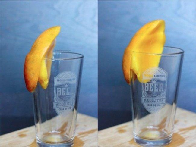 очистить манго