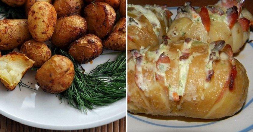 6 рецепов запеченного картофеля