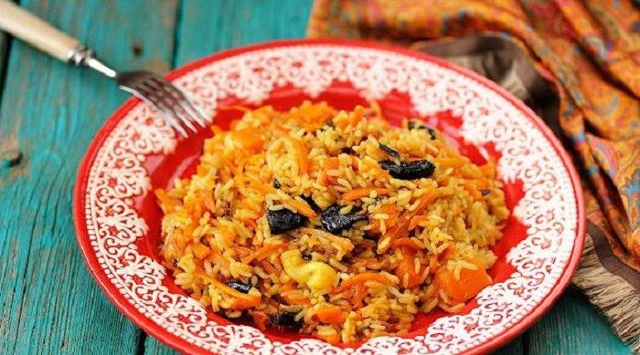 7 постных блюд, вегетарианский плов с тыквой
