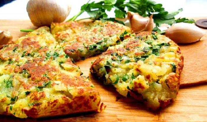 7 постных блюд, чыесночный картофель по-итальянски
