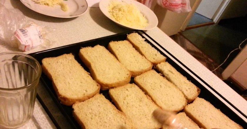 черный черствый хлеб