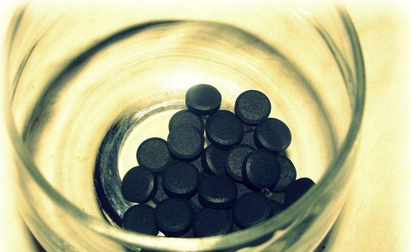 похудение с помощью угля