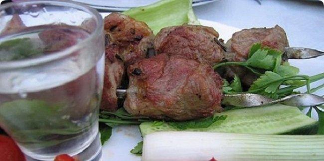 Алкоголь в кулинарии, маринад с водкой для шашлыка