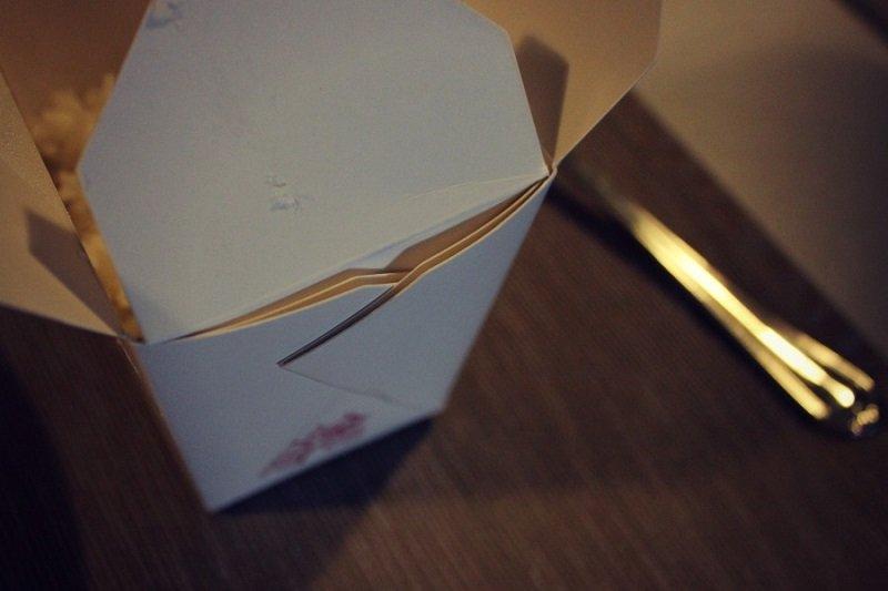 лапша в коробочке