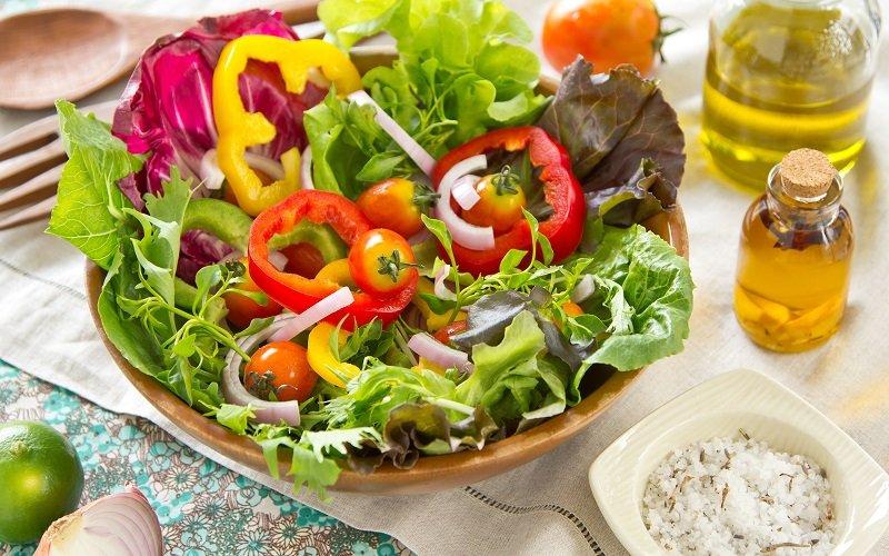 польза овощного салата