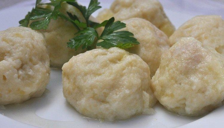 блюда Беларуси, картофельные клецки