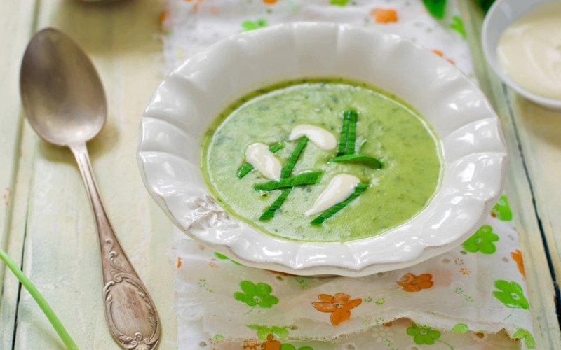 Крем-суп из черемши
