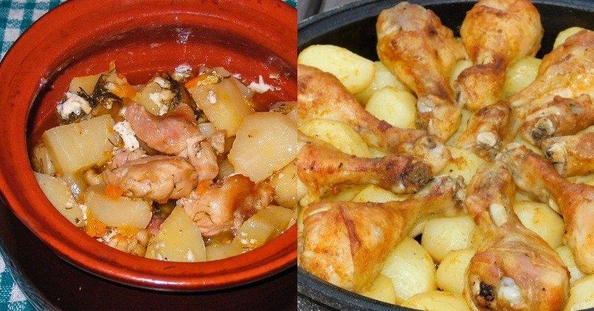 Блюда из картофеля и мяса