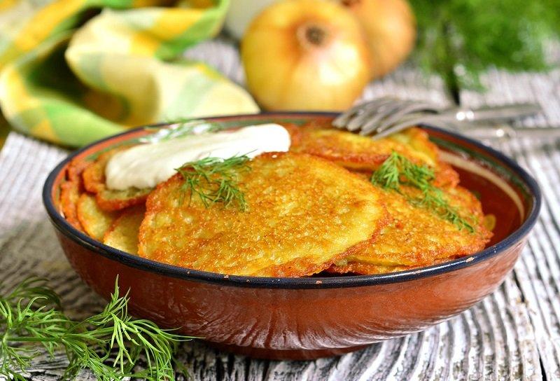 драники рецепт картофельные