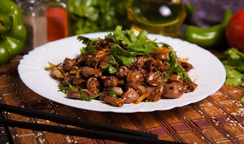 рецепты блюд из куриных сердечек