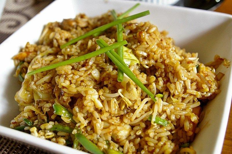 блюда из риса быстро