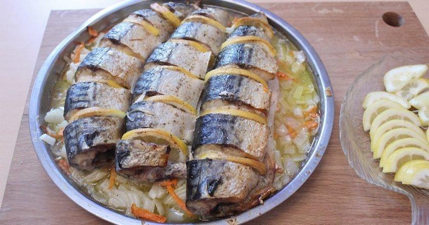 блюда из скумбрии