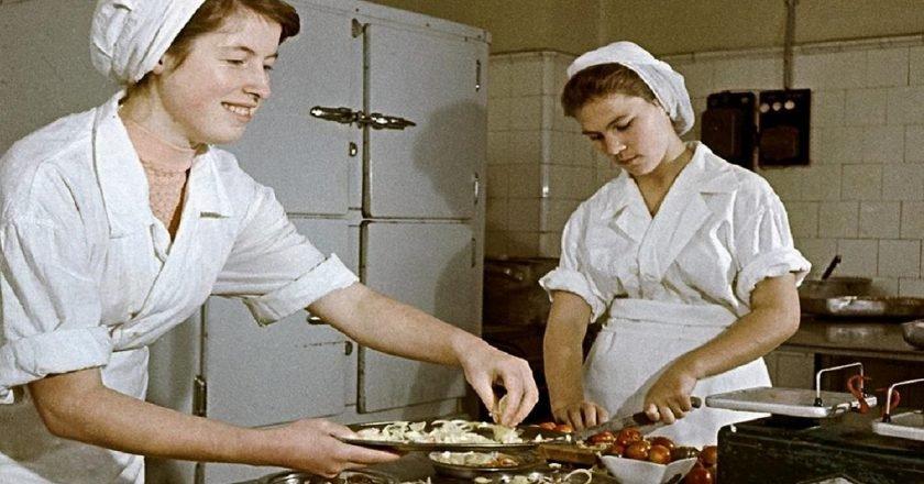 Блюда советских столовых
