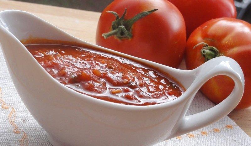 Рецепт соуса томатного для мяса