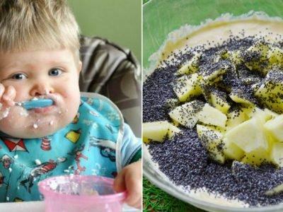 Блюда из творога для детей
