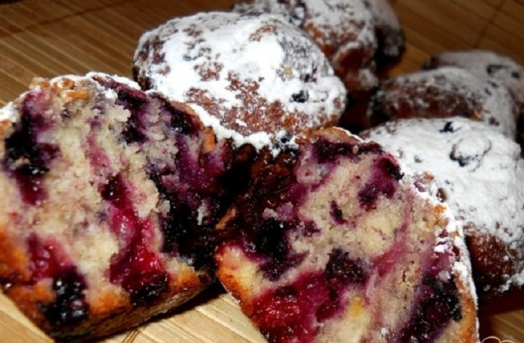 Блюда из замороженных ягод