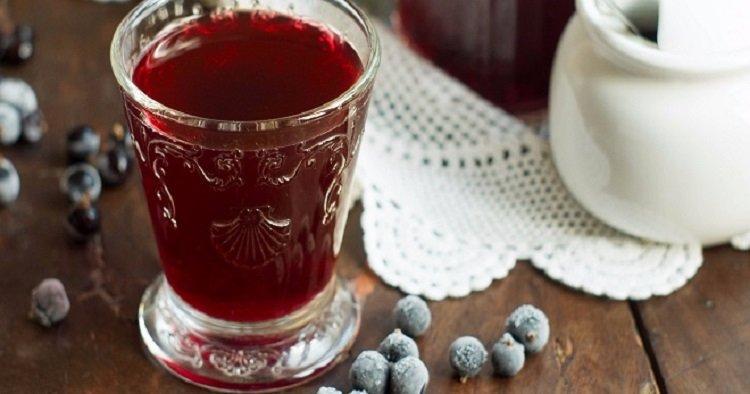 Блюда из замороженных ягод, компот