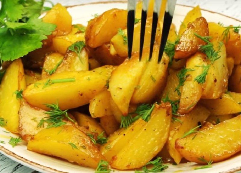 фото запеченный картофель