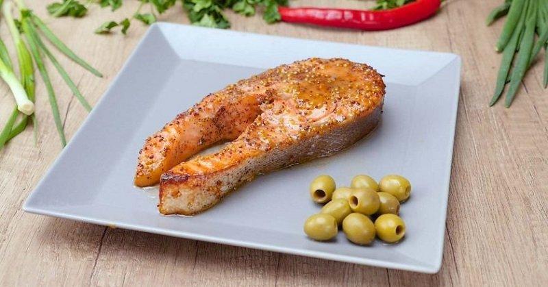 фото запеченный лосось