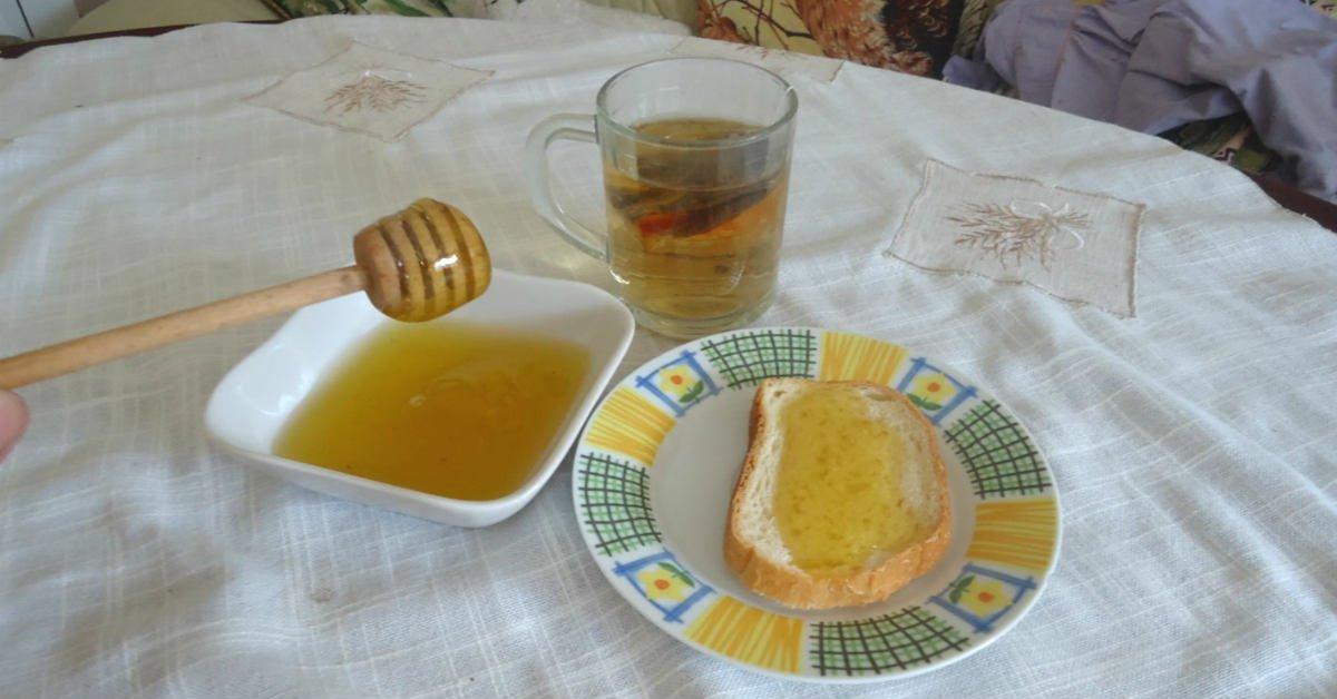 блюда с мёдом
