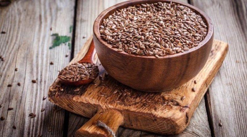 Блюда с семенами льна