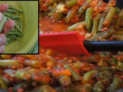 Блюда со стручковой фасолью