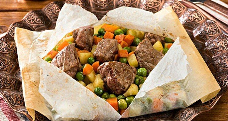 блюда в пергаменте