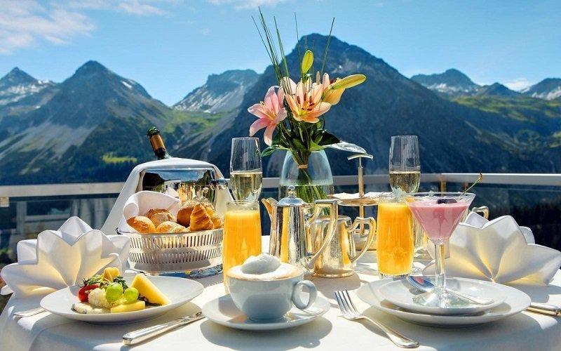 богатый завтрак