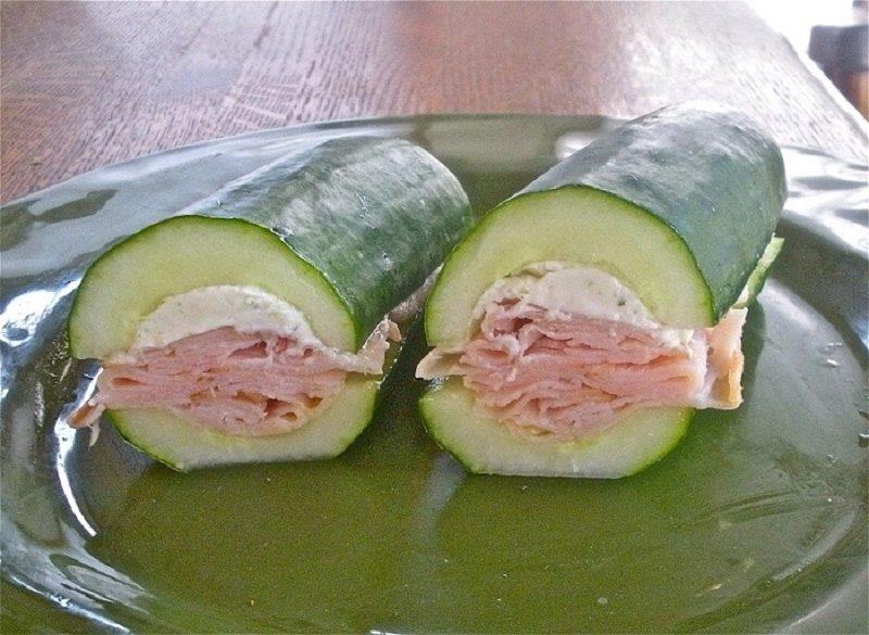 сендвіч з огірка