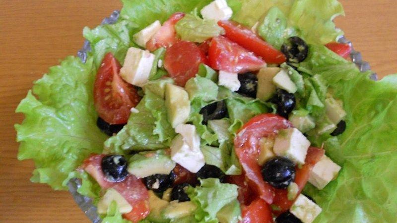 новый греческий салат