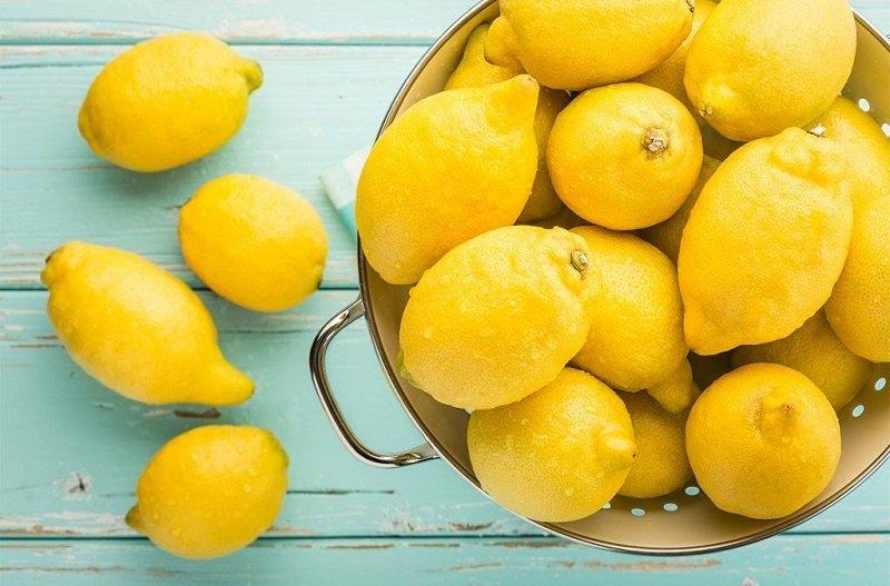 citrón na vlasy
