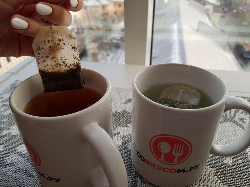 пакетированный чай вред