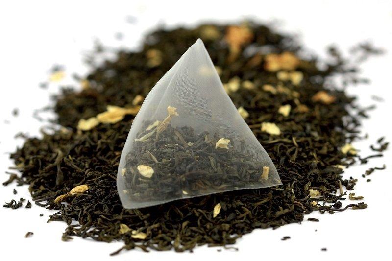 пакетированный чай в индивидуальной упаковке