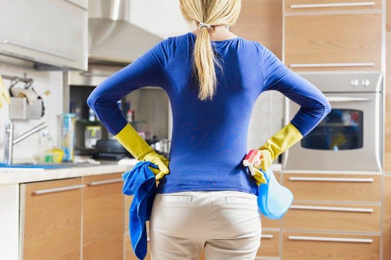 как мыть кухонную мебель