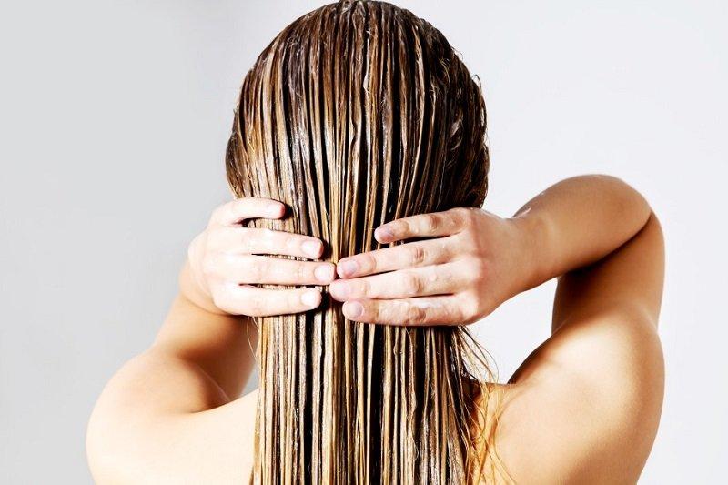 естественный блеск волос