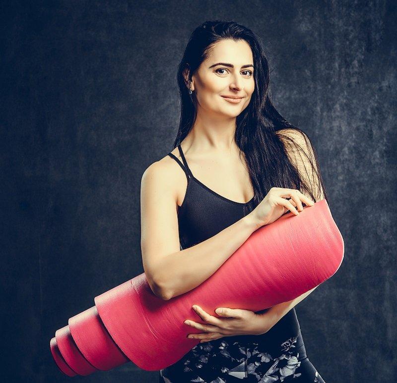 Ярославна Данилевич фитнес-тренер