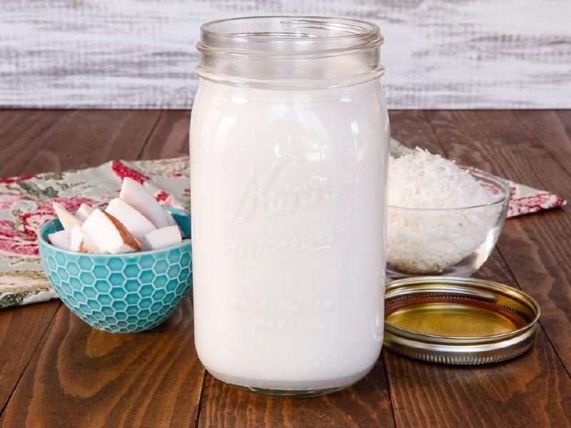 заменить кокосовое молоко