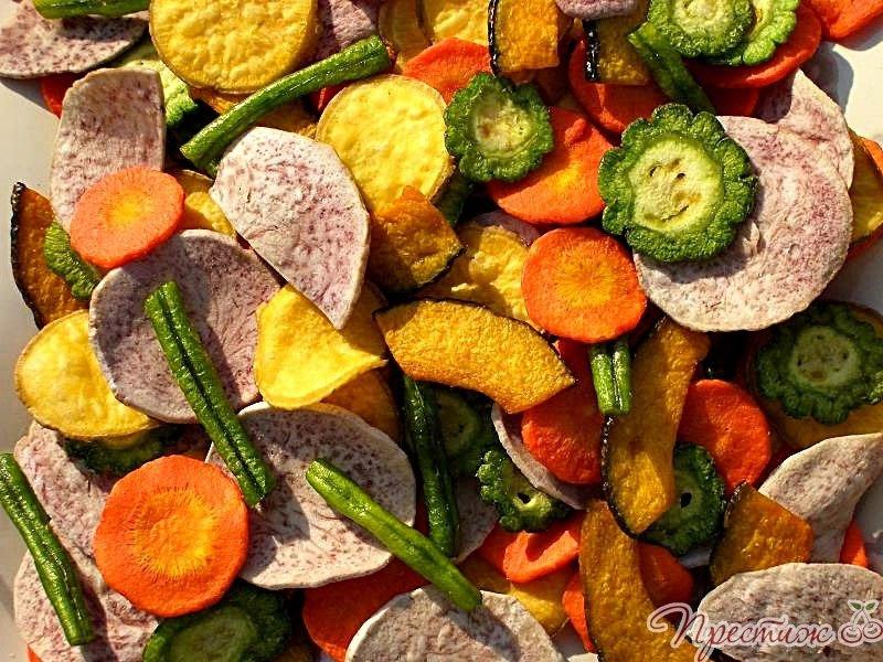 Сушеные овощи как замена соли