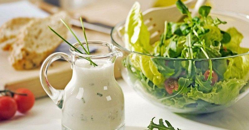 заправки для салата без майонеза