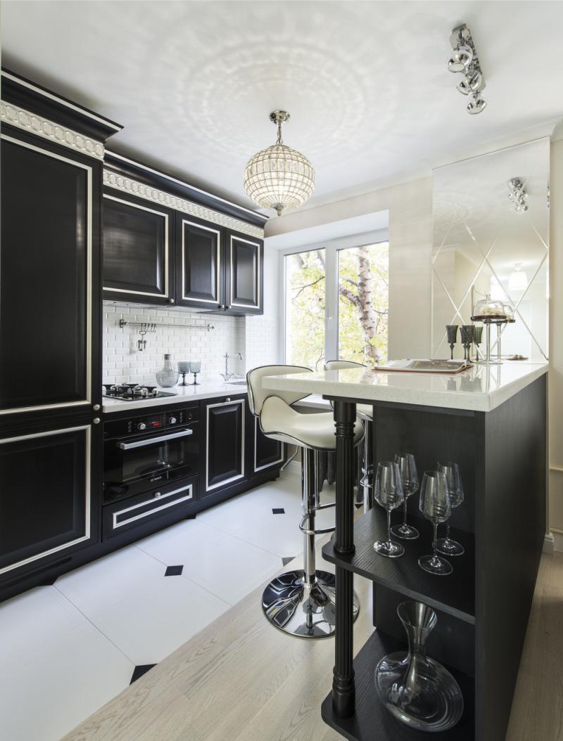 ] Czarno-biała kuchnia