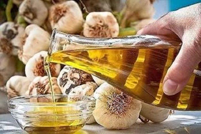 польза чесночного масла