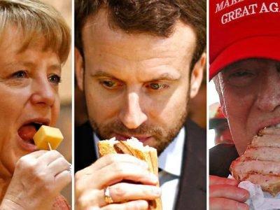 Что едят лидеры государств