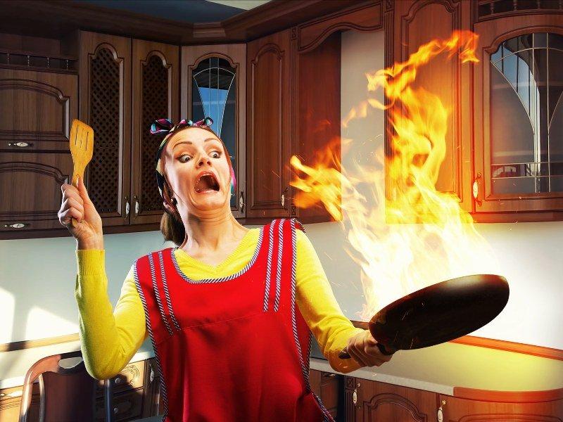 что нельзя делать +на кухне
