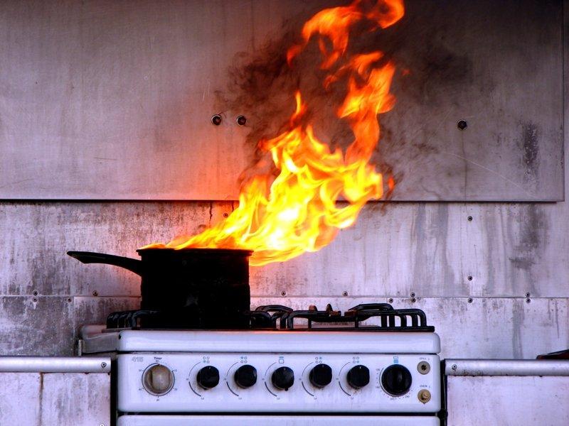 типичные ошибки на кухне