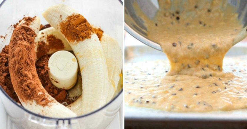 десерты из бананов