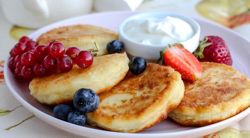 сырники на завтрак снимок