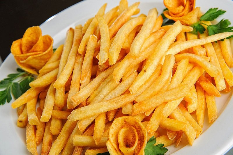 картошка фри по вкусу