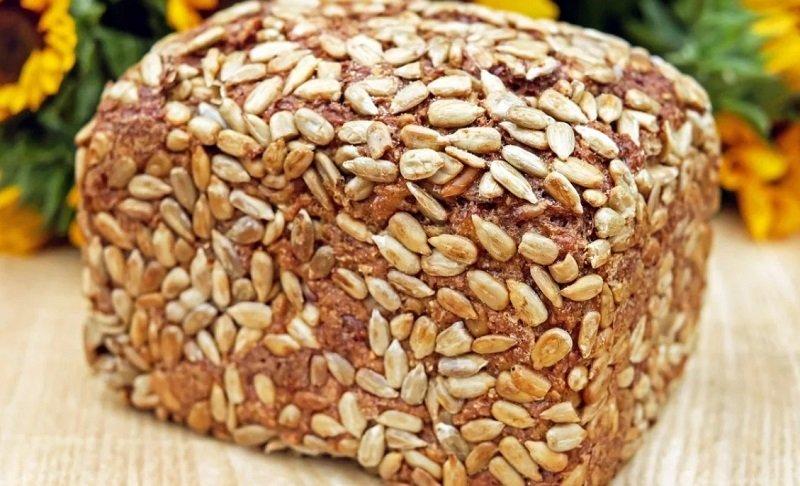цельнозерновой хлеб для сердца