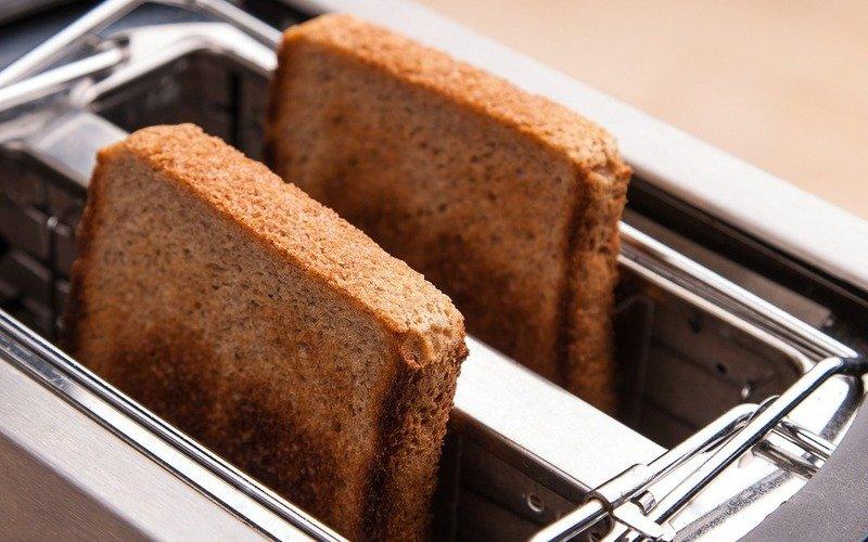 как не пережарить хлеб