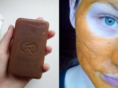 Дегтярное мыло для кожи лица